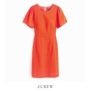 J.Crew | Flutter-sleeve Dress in Eyelet